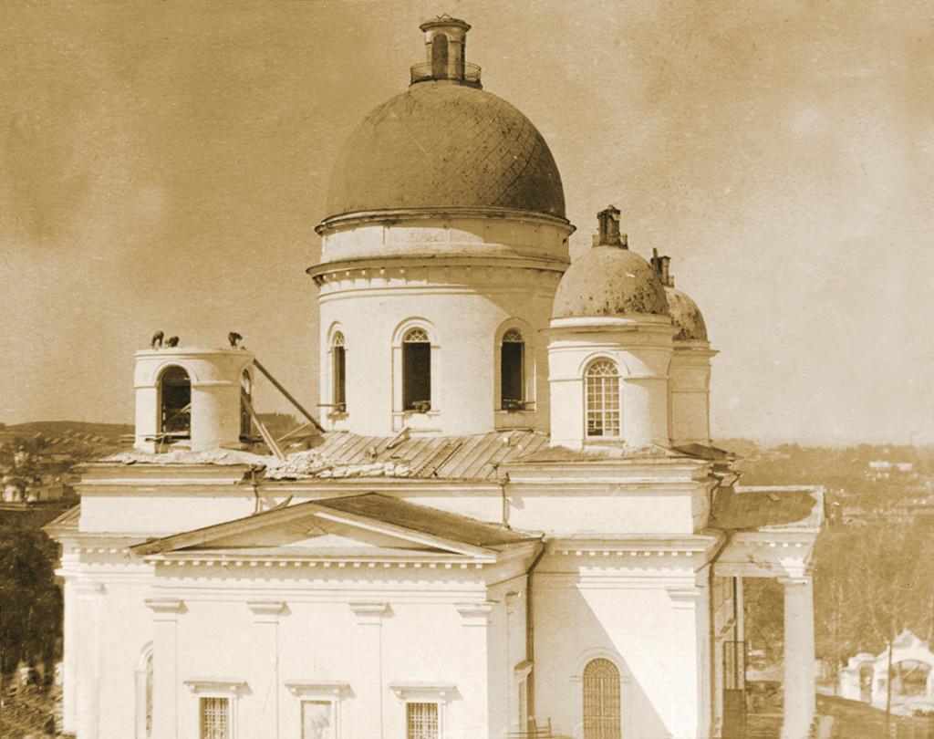 Перестройка Троицкого собора