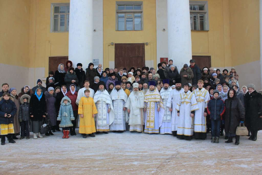 Первая Божественная Литургия 25.01.2014 г